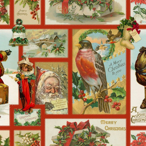 Postcards from Christmas Past