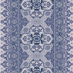 Cairo Tile Periwinkle