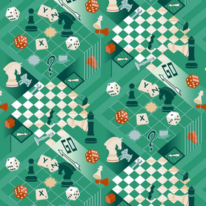 Board Games - green