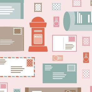 Snail Mail Fun-Pink