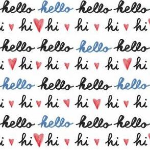 Hi! Hello!