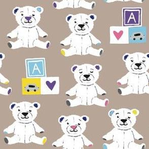Teddy bears brown