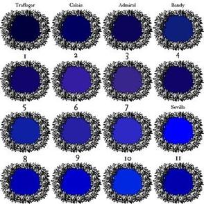 Peacoquette's Cobalt Blue Palette