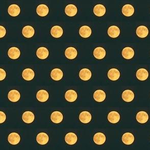Tiny Golden Moons