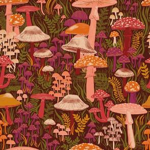 Fungi Foraging - Brown