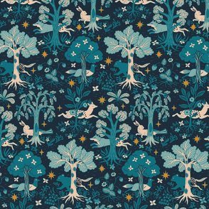 Magical Forest - Navy