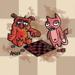 monster checkers