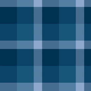 Matching to other fabric - Blue Plaid