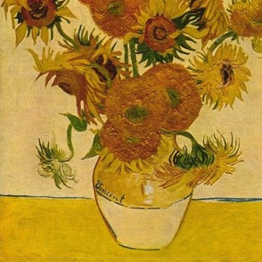 Vincent van Gogh's Sunflowers 1878