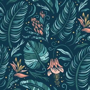 Lamb Illustration's Tropical Flora Pattern