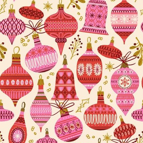 Baubles and Bows ~ Pinks (Smaller scale)