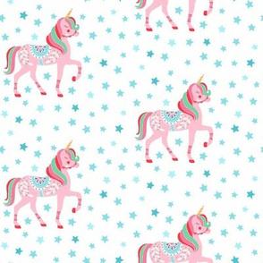 Unicorns and stars