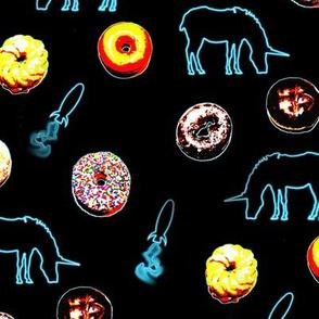 Doughnuts, Neon Rockets and Unicorns