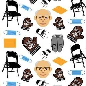 Bernie's Inauguration Mood- White