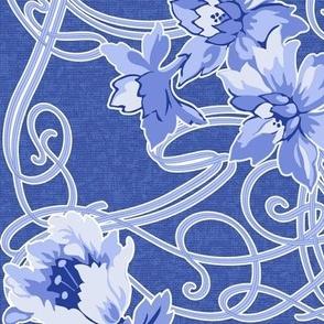 Art Nouveau green coordinate