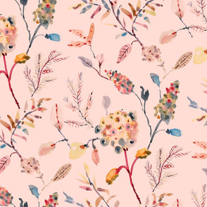 Delicate florals - Pink