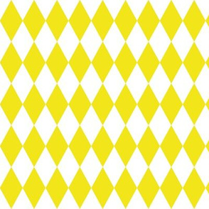 Diamond grid - yellow