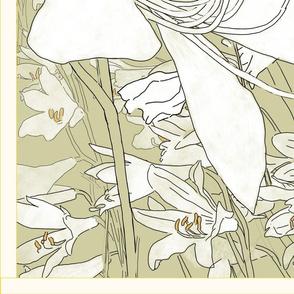Paradisea Lilie Cloth