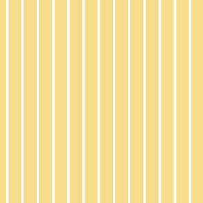 Mellow Yellow Pin Stripe Pattern with Light Vertical Stripes