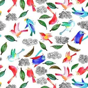 amour d'oiseau semi S