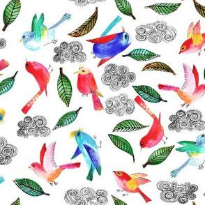 amour d oiseau semi M
