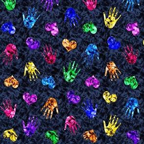 Hearts 'n Hands Batik