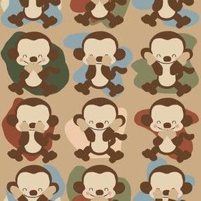 Wise Monkeys Small