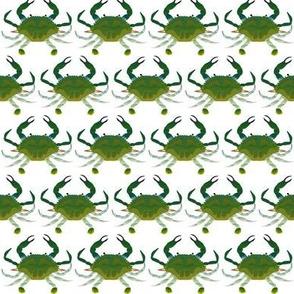 Blue crab green claw