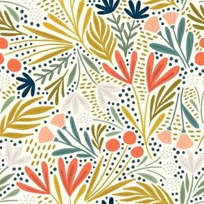 Henrietta floral (light)