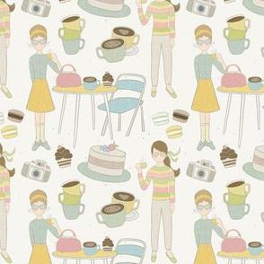 Pastel Cafe-50's