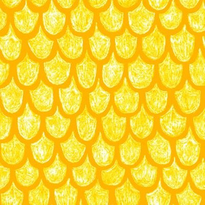 golden mermaid scales