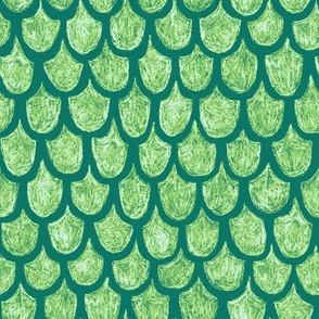 serene green dragon scales