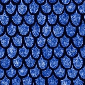 royal blue dragon scales