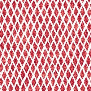 crayon diamonds - cranberry red