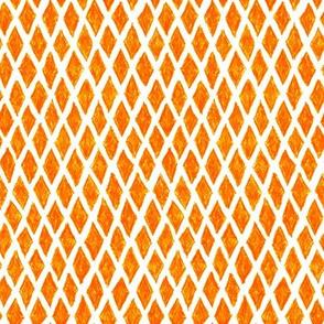 crayon diamonds - solar orange