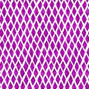 crayon diamonds - bright plum