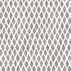 crayon diamonds - grey