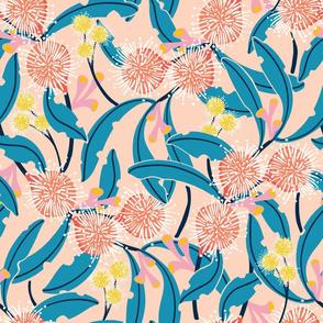 Gum + Wattle Blossom