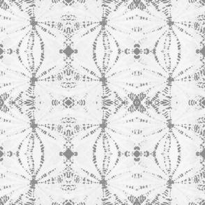 tribal shibori grey jumbo
