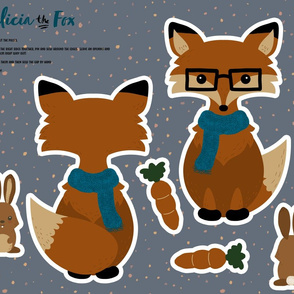 Cut and Sew Felicia the Fox