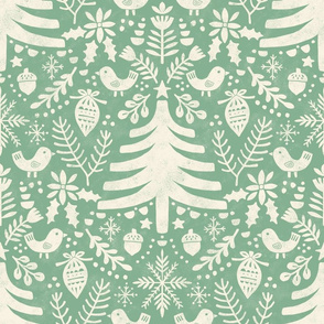 Christmas tree mint