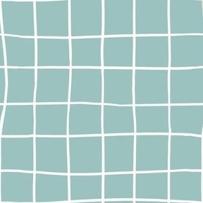 RGB 6 by 6 Inches Grids Oh Baby Blue Collection 1