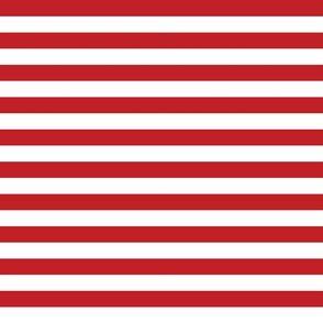 Red White Stripes - Small