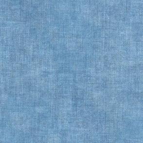 Light Denim Blue Linen Canvas Textured Solid Coordinate