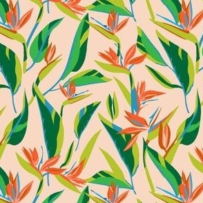 ANTHOLOGY OF PATTERN ELLE BIRD OF PARADISE LIGHT SMALL