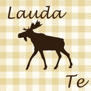 plaid-gold-Laudamus Te