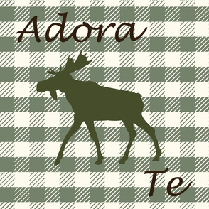 plaid-green-Adoramus Te