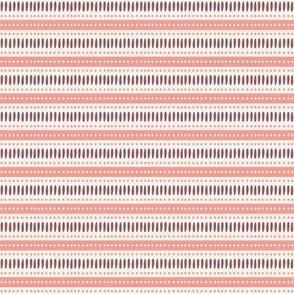 Pink and Burgundy stripes-nanditasingh