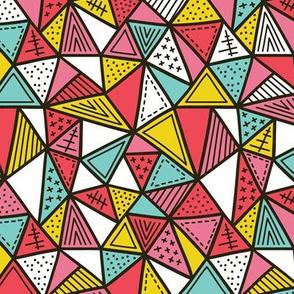 Ornate triangles SMALL scale