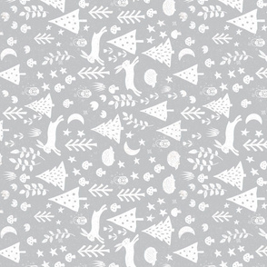Wonderful woodland white and grey (rotated)